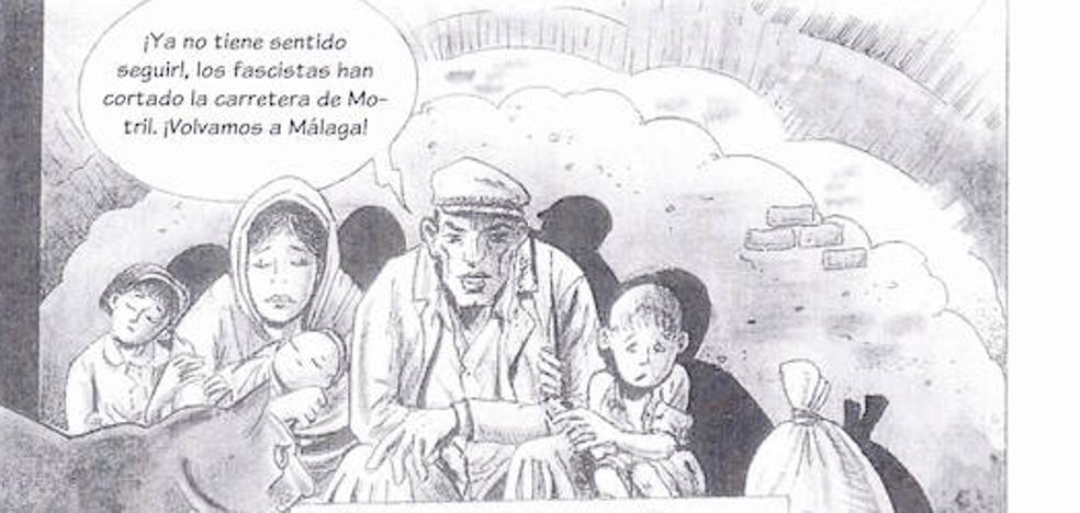Un cómic recupera la historia silenciada de las recoveras en Málaga durante la posguerra