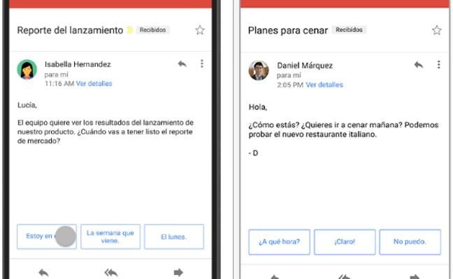 Gmail contestará el correo por ti