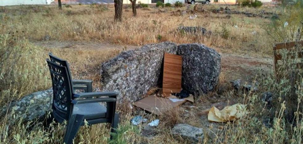 Denuncian el abandono de los únicos restos prehistóricos en Ronda