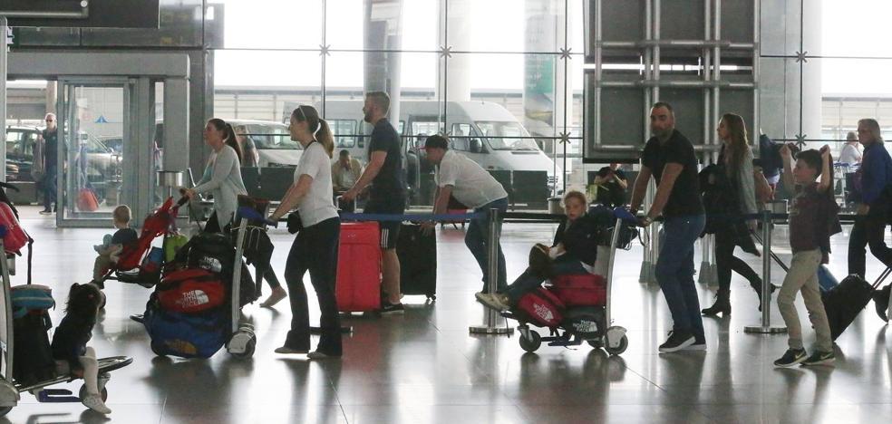 El aeropuerto de Málaga prevé más de 2.300 vuelos entre finales de julio e inicio de agosto