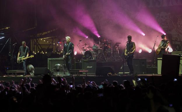 The Offspring, en el Tsunami Xixón./