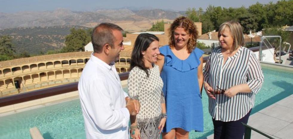 El segundo hotel de Catalonia en Ronda espera llenarse en la Goyesca