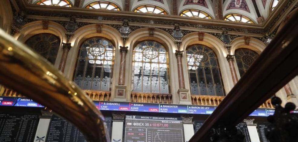 La Bolsa sube un 0,55% en julio animada por la banca y el BCE