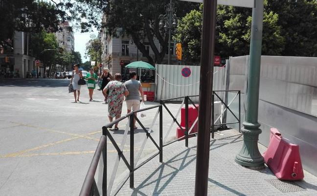 El metro creará un paso de peatones en un cruce peligroso de la Alameda durante la feria