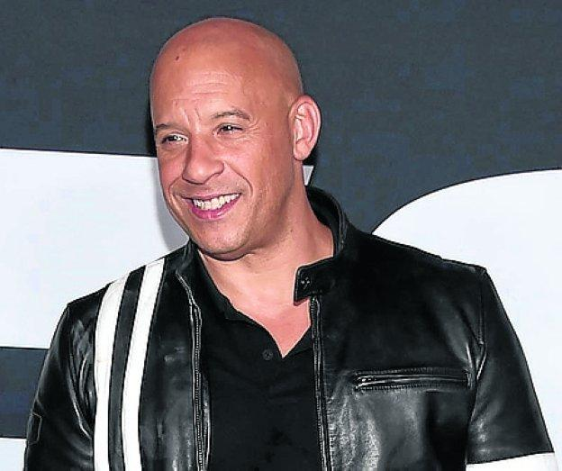 Vin Diesel será actor y productor. /R.C.