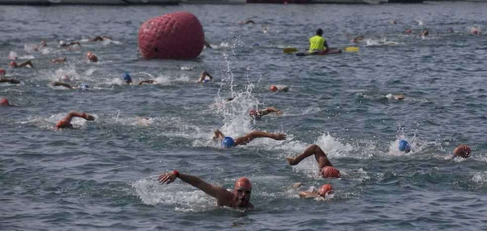 La fiesta de la natación malagueña