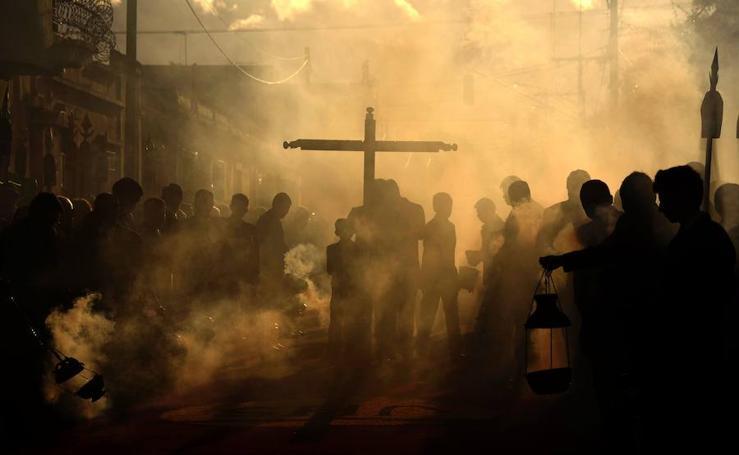 La procesión de Jesús de la Merced en Guatemala