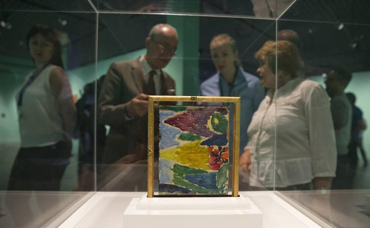 El color llega al Museo Ruso con Jawlensky