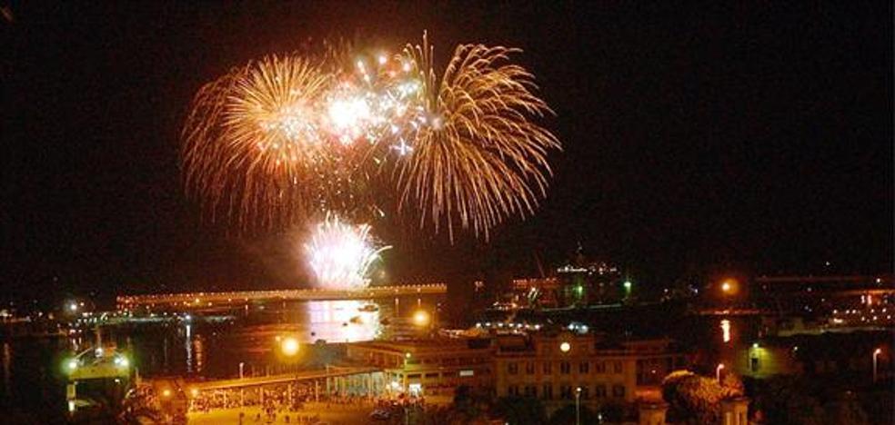 Así será el espectáculo de fuegos artificiales que dará inicio a la Feria de Málaga 2017
