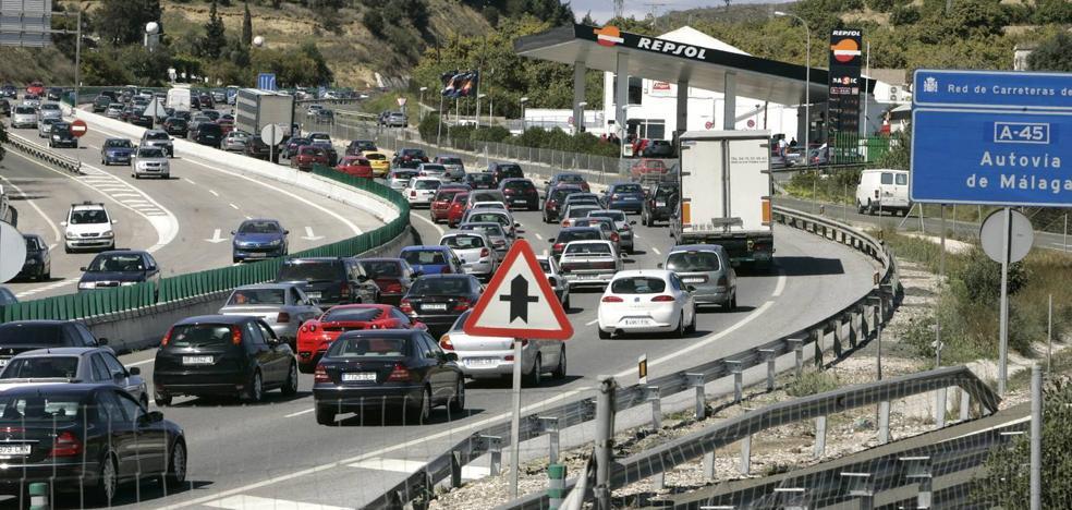 Málaga, la provincia con más puntos conflictivos en la 'Operación 15 agosto' de Tráfico