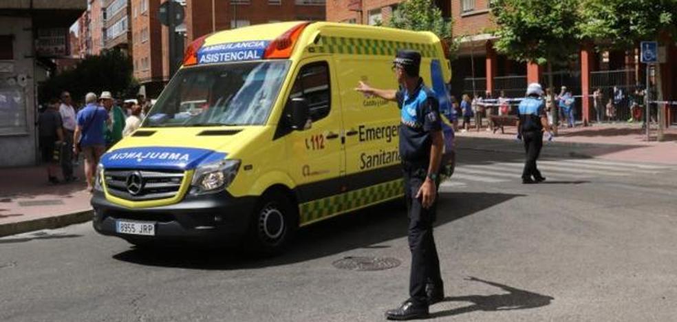 Se rompe la cadera mientras observaba el atropello de otra mujer en una calle de Valladolid