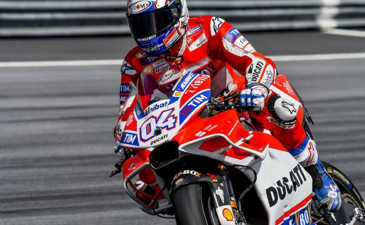 Entrenamientos del Gran Premio de Austria de motociclismo