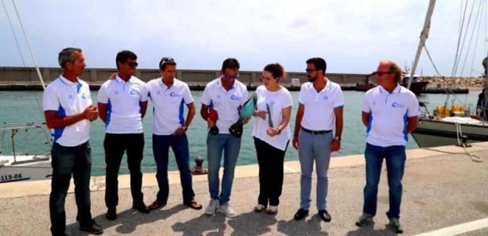 El grupo Ceres, recibido en Puerto Marina