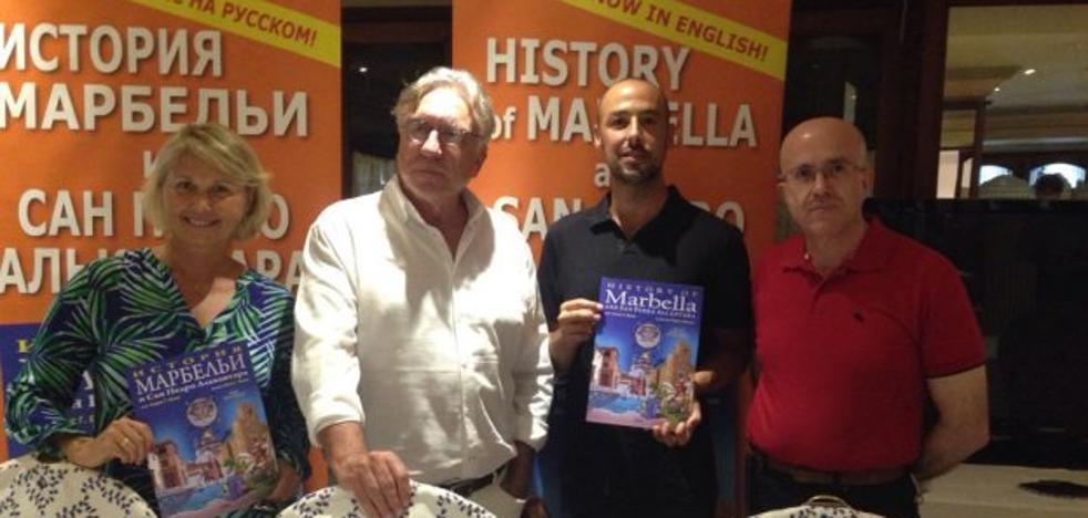 La historia de Marbella se cuenta en ruso e inglés