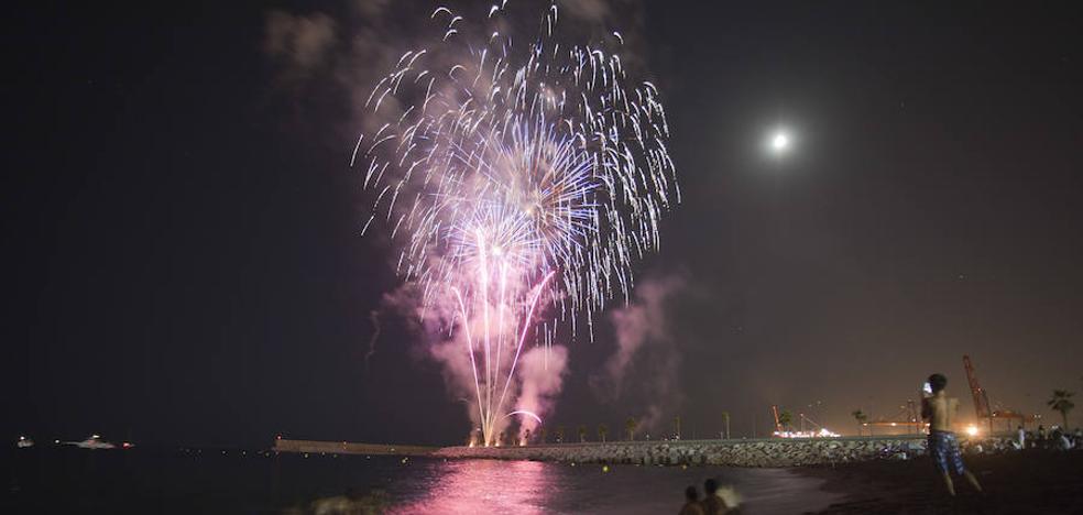 Los mejores sitios para ver los fuegos artificiales de la Feria de Málaga 2017