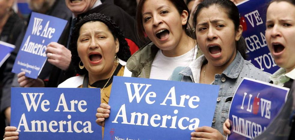 Más de 200 personas al día cruzan la frontera entre EE UU y Canadá para solicitar asilo