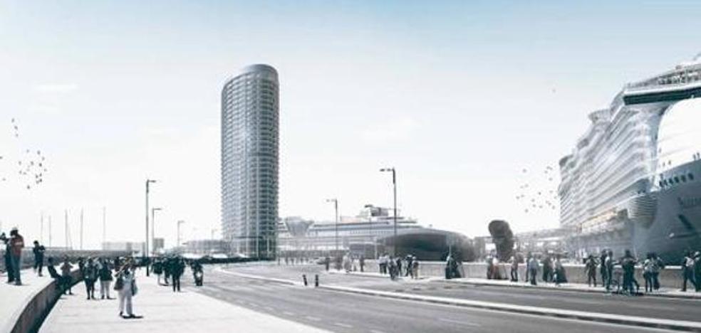 La Federación Malagueña de Ecologistas presenta diez alegaciones al hotel del puerto de Málaga