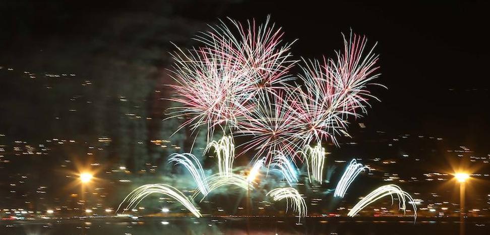 Vídeo de los fuegos artificiales de la Feria de Málaga 2017