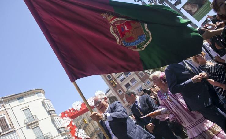 Las mejores fotos de la romería a la Victoria de la Feria de Málaga 2017