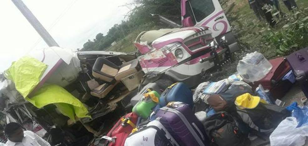 Una semana sin rastro del conductor que causó el accidente con cuatro muertos en la India