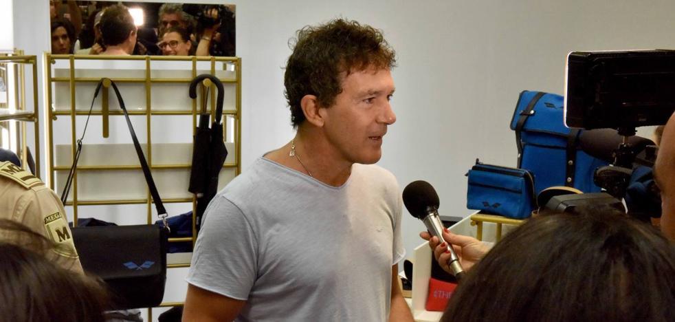 Antonio Banderas: «Ojalá Starlite se quede en Marbella. Ahora que empieza a funcionar vienen los palos»