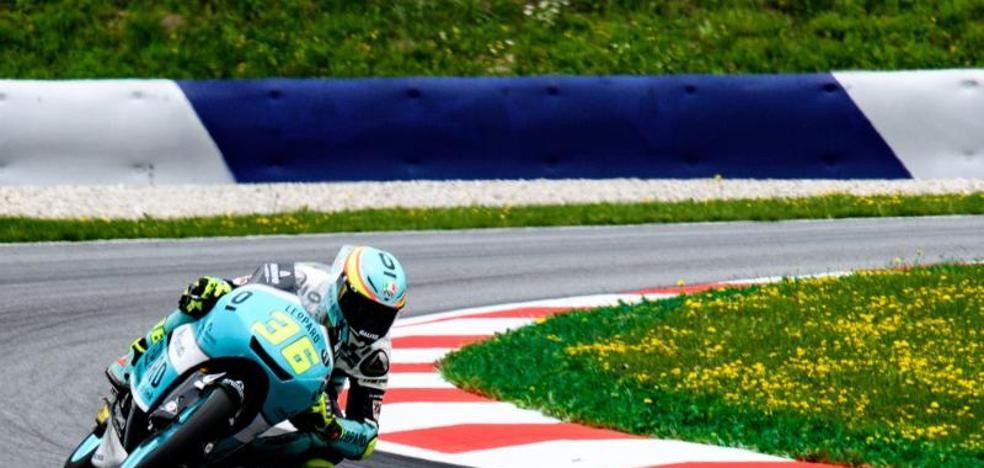 Rodrigo logra la pole en Moto3 y Mir sólo es décimo