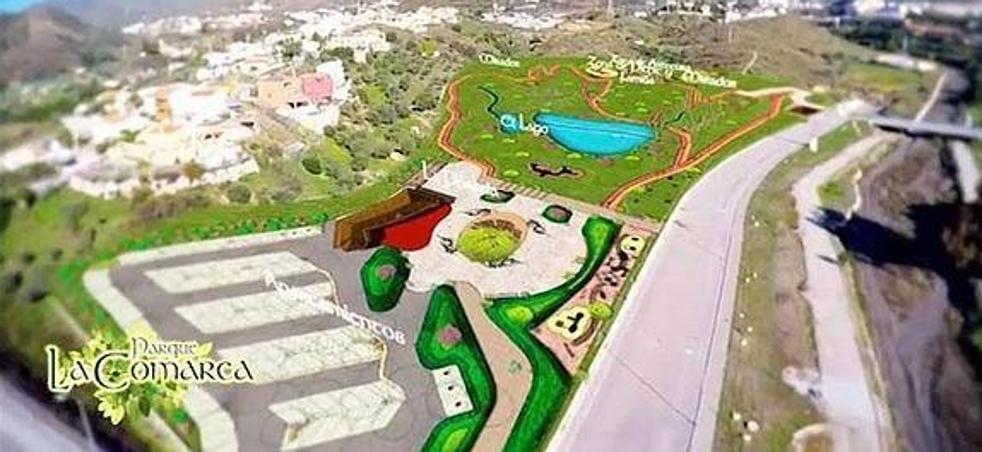 Rincón de la Victoria quiere recuperar el proyecto del parque Tolkien con fondos europeos
