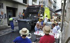 Fotos   Así quedó el Centro de Málaga tras la primera jornada de feria