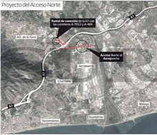 Fomento anuncia la solución al principal punto negro de la Hiperronda de Málaga en 2018