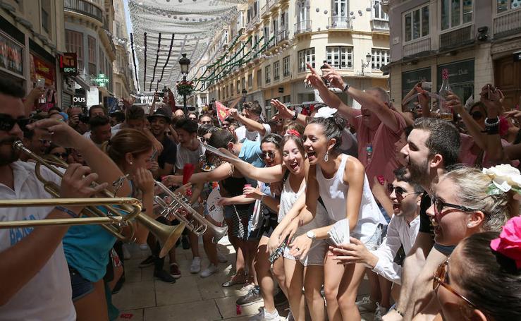 La fiesta continúa el lunes de feria en el Centro