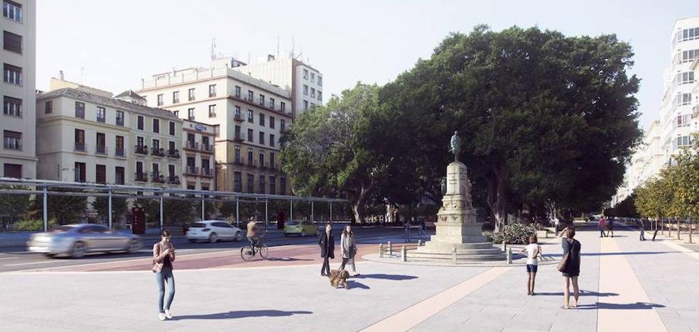 El Ayuntamiento de Málaga dará luz verde al proyecto para transformar la Alameda Principal este viernes