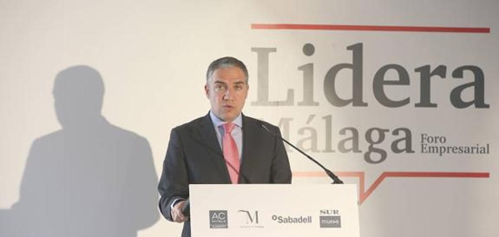 """Bendodo: """"La moción de censura en Marbella es para que sea alcalde quien ganó las elecciones"""""""