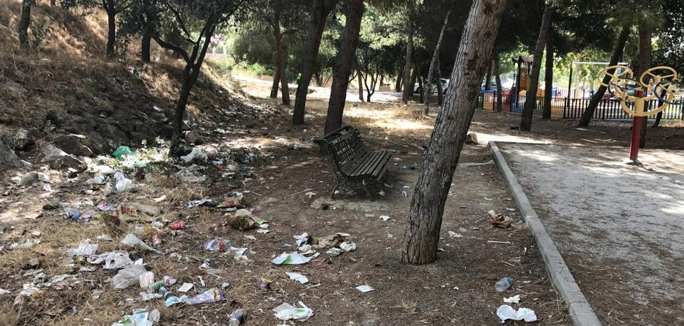Acumulación de basura