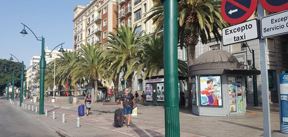 La huelga deja sin taxis Málaga capital y se extiende a la Costa