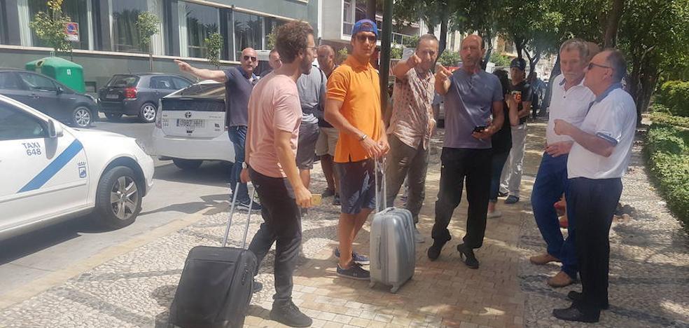Los hosteleros reconocen que la huelga de taxis ya está afectando a la Feria de Málaga