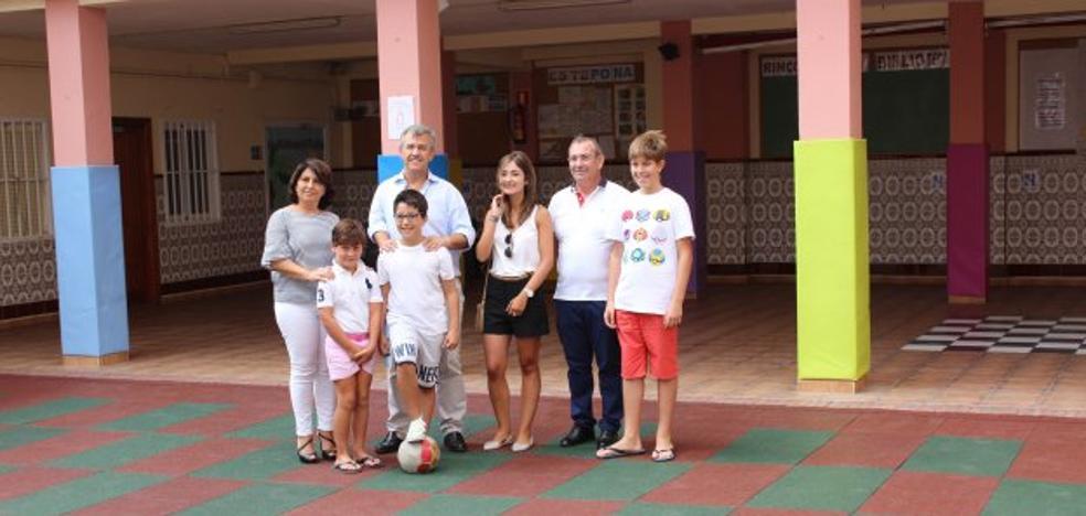 El Ayuntamiento de Estepona acomete 124 mejoras en los colegios públicos