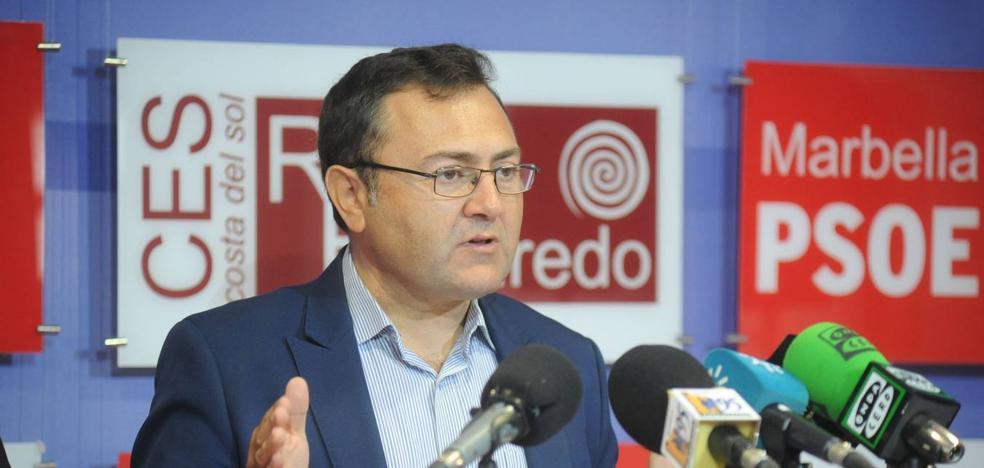 El PSOE pide explicaciones sobre lo firmado por PP y OSP en Marbella «para echar» a Bernal