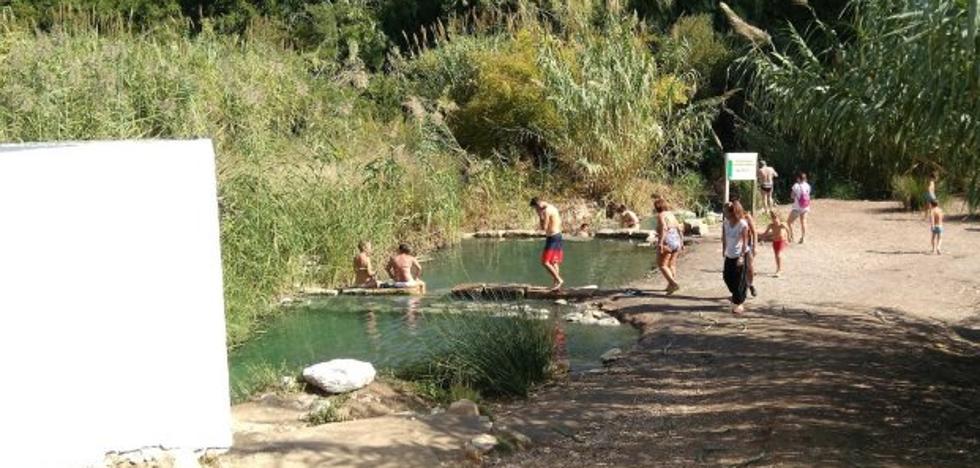 Más de 9.000 personas visitaron los baños de La Hedionda de Casares en julio