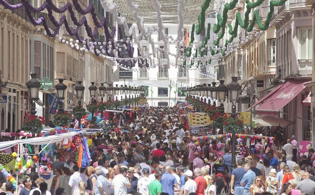 Feria de 'ambiente' en Málaga