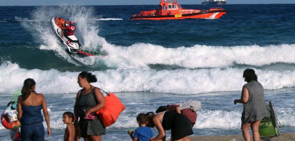 339 ahogados en España en lo que va de año, 43 más que en 2016