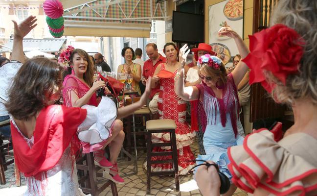 El jueves de la Feria de Málaga, en fotos