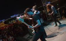 Broche final al rock en la explanada de la Juventud