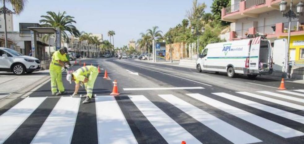 La remodelación de la avenida Carlota Alessandri de Torremolinos eliminará dos carriles