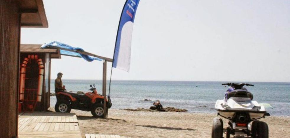 Casi el 50% de los usuarios de las playas de Casares son de la costa
