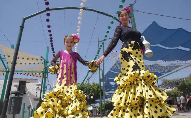 El viernes de la Feria de Málaga, en fotos