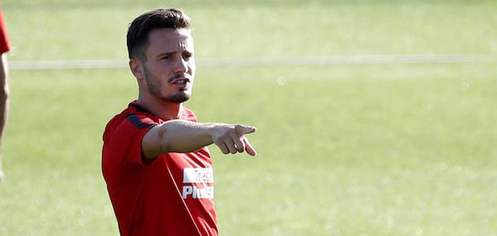 Saúl, titular ante el Girona