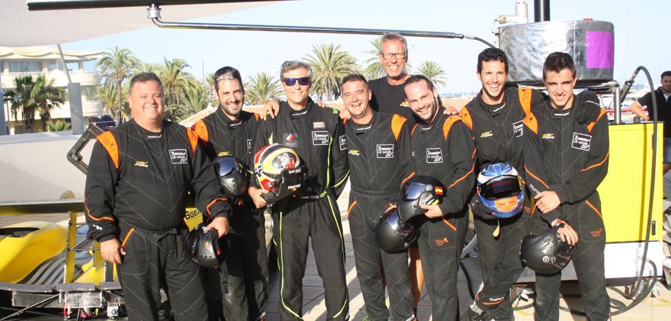 La escudería SPV Racing presentó su equipo en Benalmádena