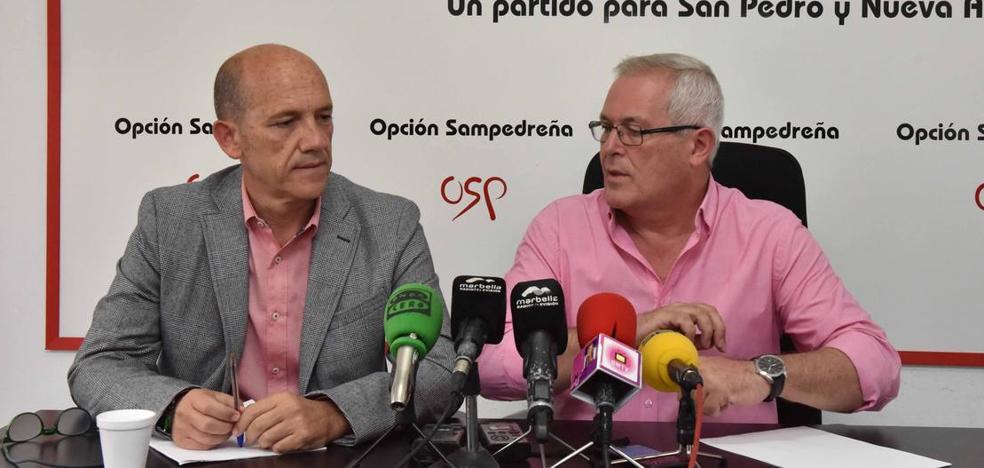OSP y Podemos escenifican su desencuentro en Marbella con duras críticas y mantienen viva la moción de censura