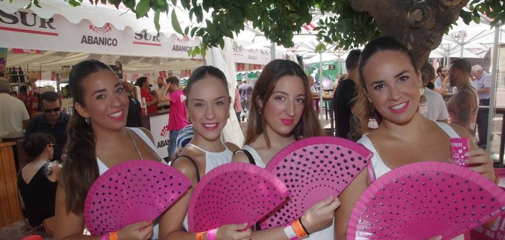 Todas las fotos de la caseta Abanico de la Feria de Málaga 2017