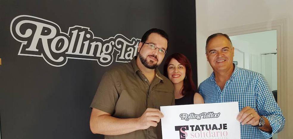 Tatuajes solidarios en Fuengirola